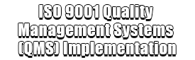 ISO 9001 Quality Management Systems (QMS) Implementation Logo